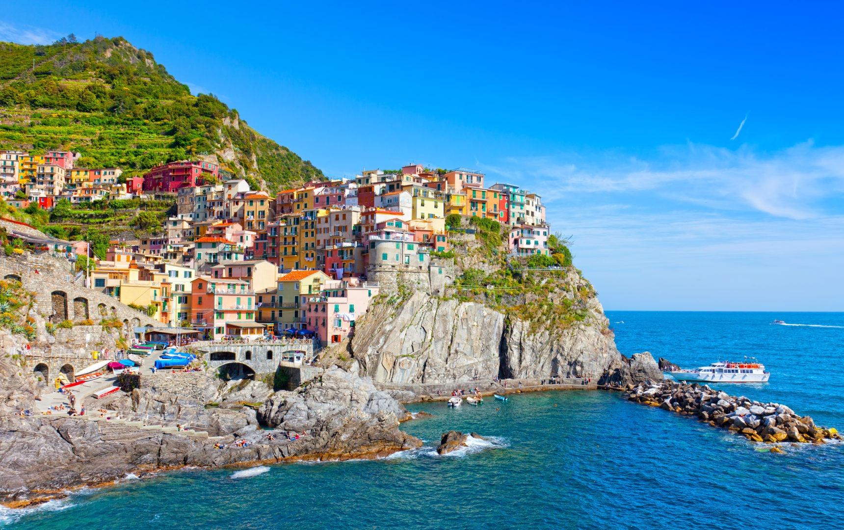 Voyages organisés cinques terres italie