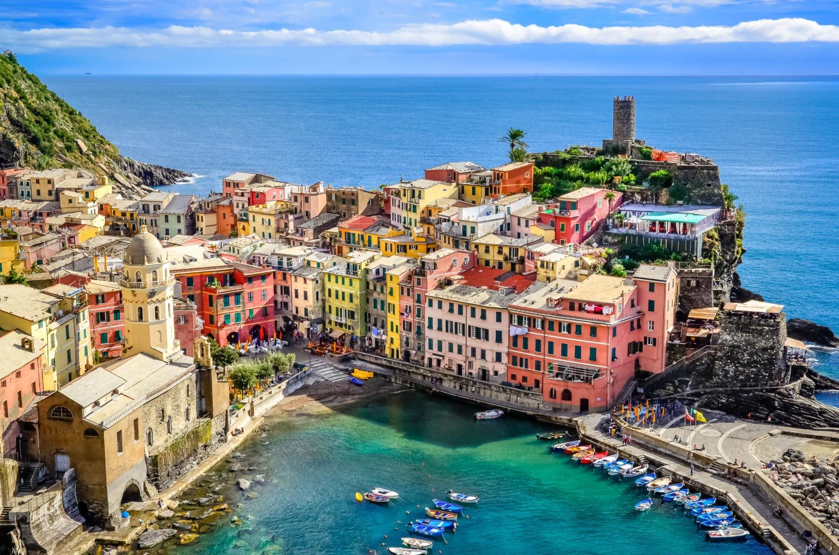 Voyage tout compris cinques terres italie