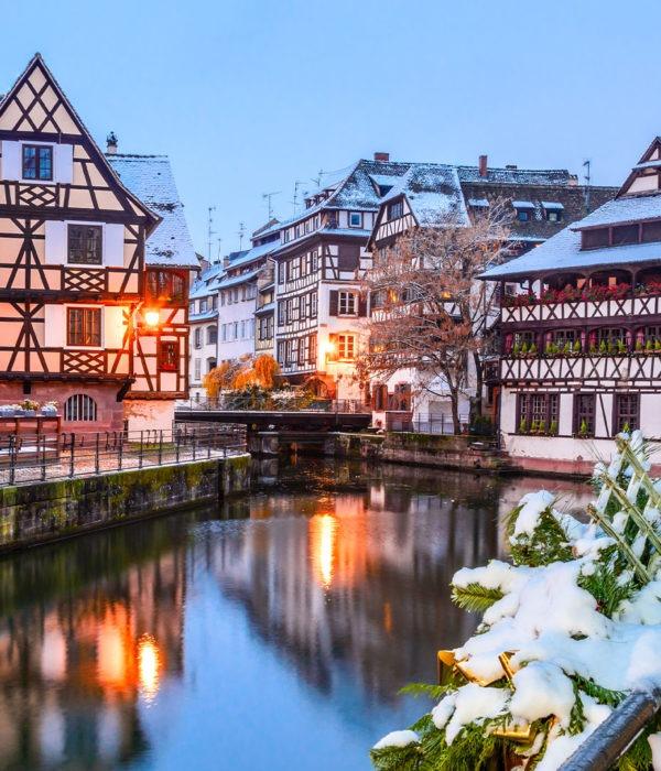 Voyage marché de Noel Alsace