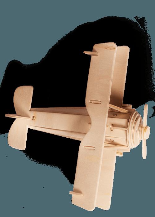 avion en bois