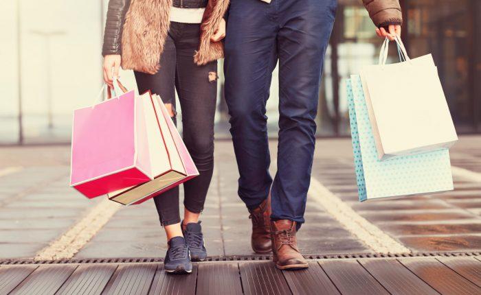 City break shopping