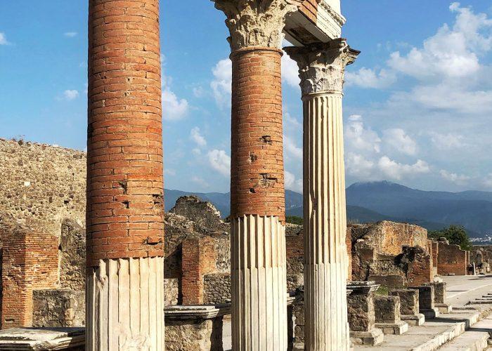 voyage organise pompei